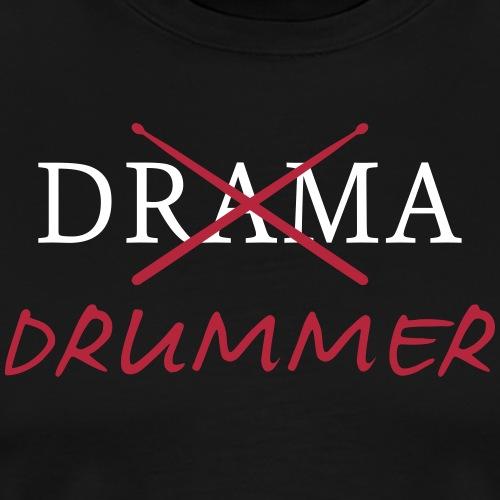 Drama Drummer - Männer Premium T-Shirt