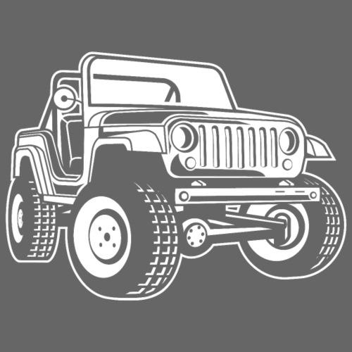 Geländewagen / Jeep SUV 03_weiß - Männer Premium T-Shirt