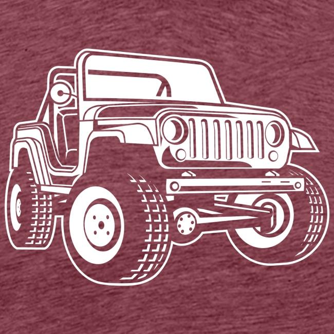 Geländewagen / Jeep SUV 03_weiß