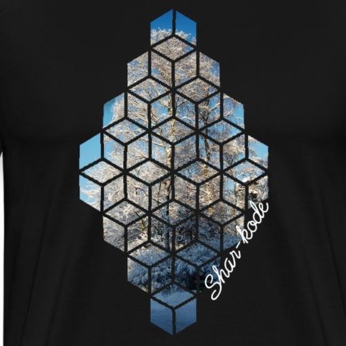 Boom van de winter - Mannen Premium T-shirt