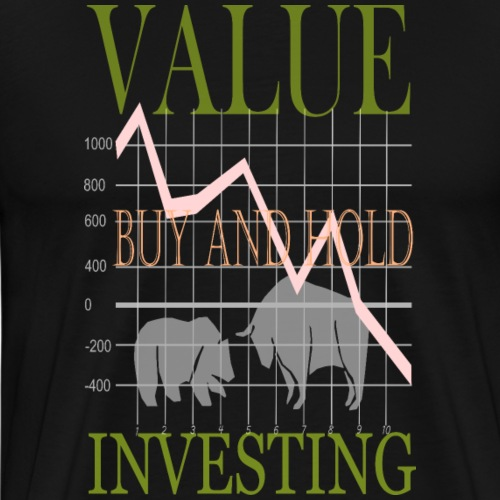 Value Investing. - Männer Premium T-Shirt