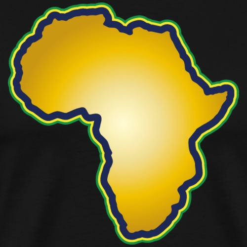 Afrika Big Five Africa Schwarzer Kontinent Safari - Men's Premium T-Shirt