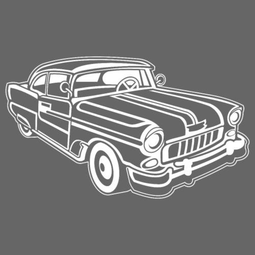 Chevy Cadilac / Muscle Car 02_weiß - Männer Premium T-Shirt
