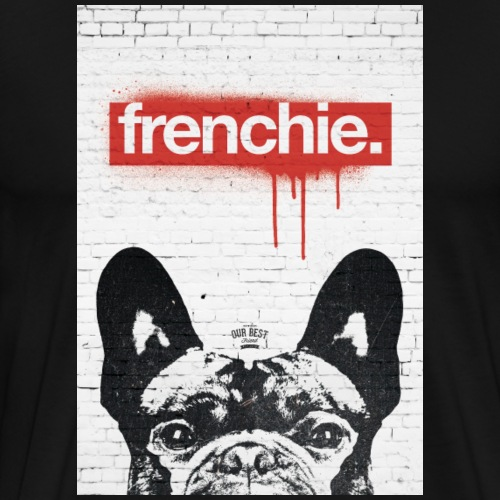 Frenchie Streetart Part 2 - Männer Premium T-Shirt