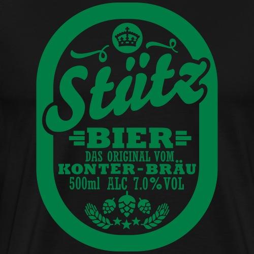 Stützbier - Männer Premium T-Shirt