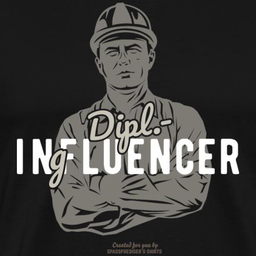 Ingenieur T-Shirt Dipl.-Ingfluencer - Männer Premium T-Shirt