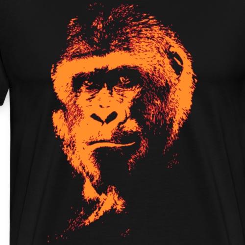Silverback gorilla - T-shirt Premium Homme