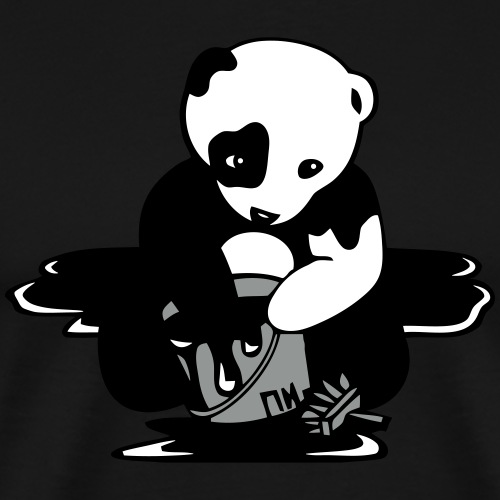 Polar Panda - Männer Premium T-Shirt