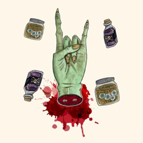 Zombie hand - Camiseta premium hombre