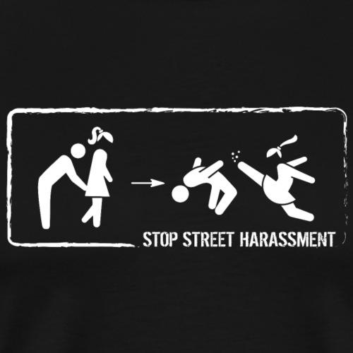 Stop street harassment: hand to the buttocks - Men's Premium T-Shirt