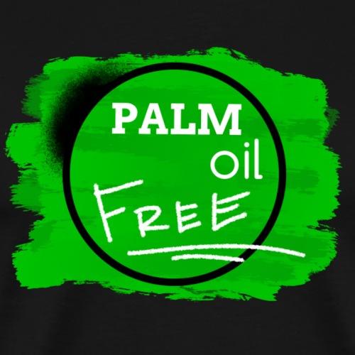 PALM oil FREE By TheRawburt - Premium-T-shirt herr