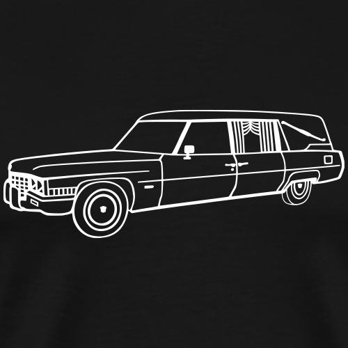 Cadillac Leichenwagen 1971 - Männer Premium T-Shirt