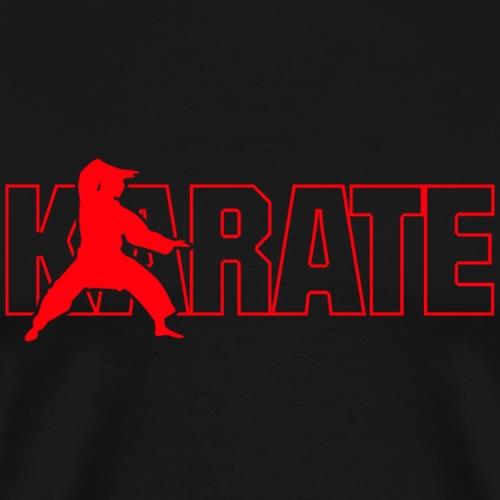 Karaté - T-shirt Premium Homme