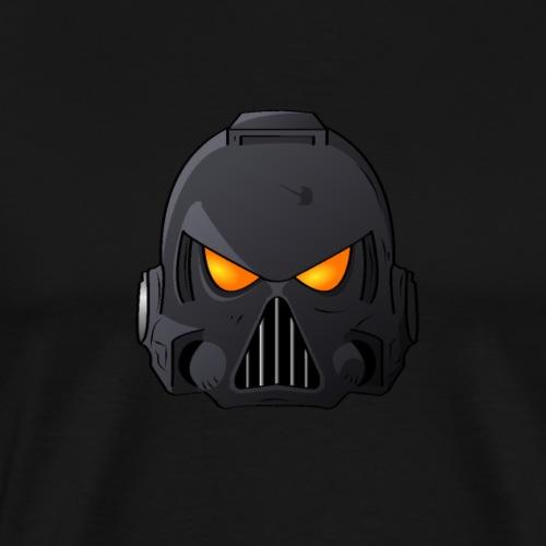 Raven Claw Space Marine Helmet - Men's Premium T-Shirt