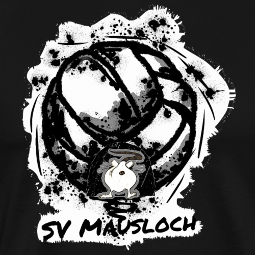 Volleyball Mausloch Beachvolleyball SW - Männer Premium T-Shirt
