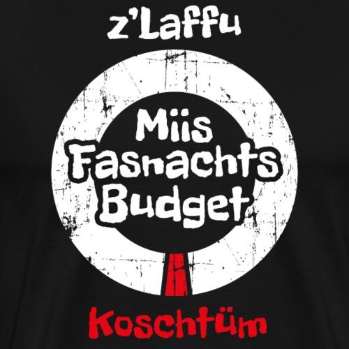 FASNACHTS BUDGET - Männer Premium T-Shirt