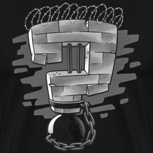 Warum Gefängnisse niemandem nützen - Männer Premium T-Shirt