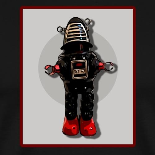 Retro Vintage Roboter Sci-fi T-Shirt Geschenkidee - Männer Premium T-Shirt