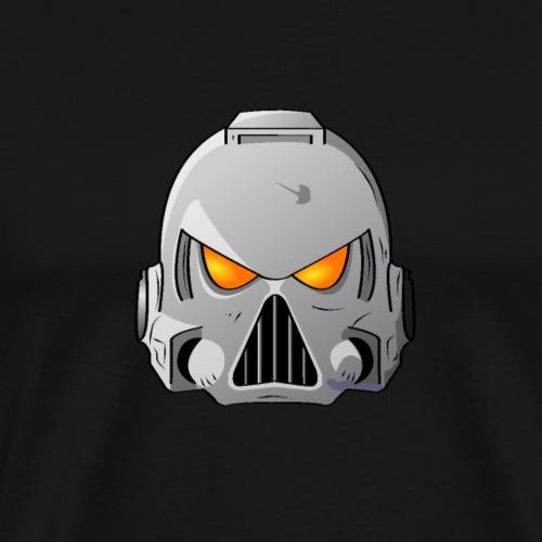 Space Wolves Space Marine Helmet - Men's Premium T-Shirt