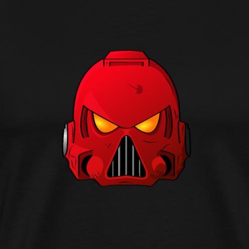 Blood Angels Space Marine Helmet - Men's Premium T-Shirt