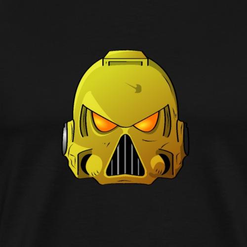 Imperial Fists Space Marine Helmet - Men's Premium T-Shirt
