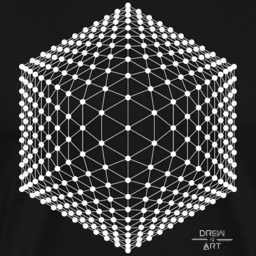 Techno / Trance / Illusion / DREW ART - T-shirt Premium Homme