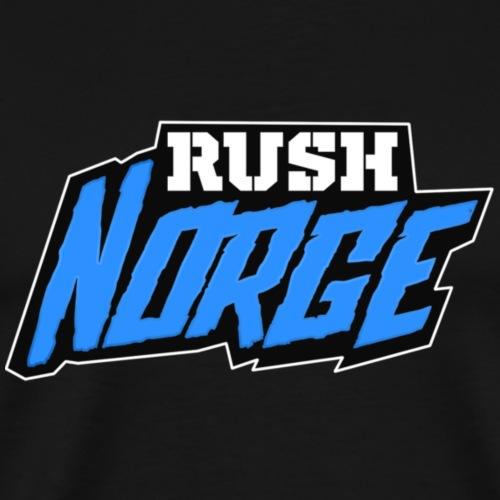 RushNorge 2017 - Premium T-skjorte for menn