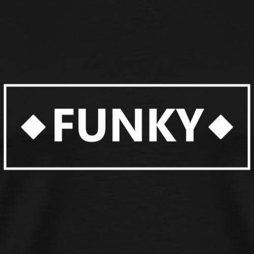 FunkyFrameWhite - Männer Premium T-Shirt