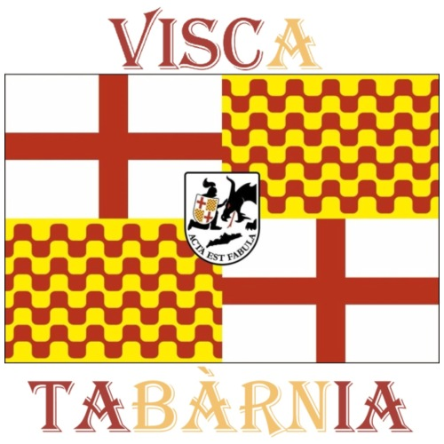Bandera Visc a Tabarnia - Camiseta premium hombre