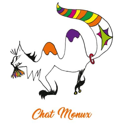 Chat Monux - T-shirt Premium Homme