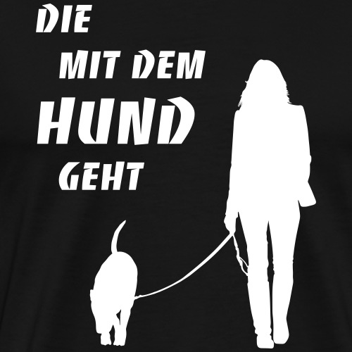 Frauen Premium Kapuzenpullover - Männer Premium T-Shirt