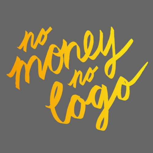 No Money No Logo | T-shirts Design - Men's Premium T-Shirt