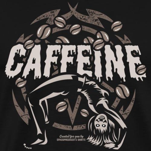Kaffee T Shirt Caffeine - Männer Premium T-Shirt