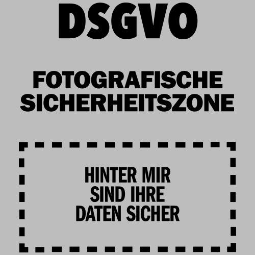 DSGVO-Foto schwarz HINTEN - Männer Premium T-Shirt