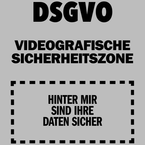 DSGVO-Video schwarz HINTEN - Männer Premium T-Shirt