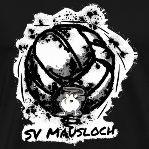 Volleyball Mausloch Beachvolleyball SW - Männer Premium T-Shirt