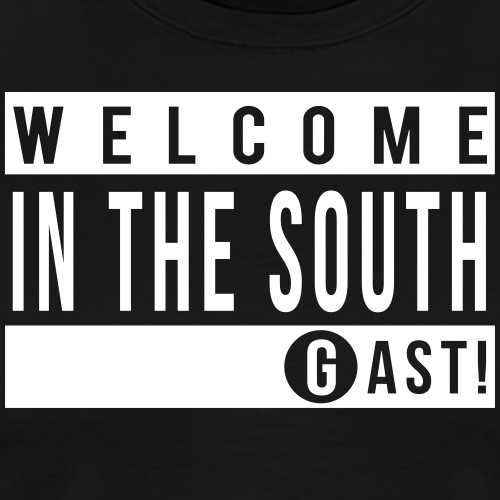 Welcome in the south - T-shirt Premium Homme
