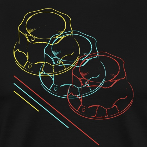 Knobs - Männer Premium T-Shirt