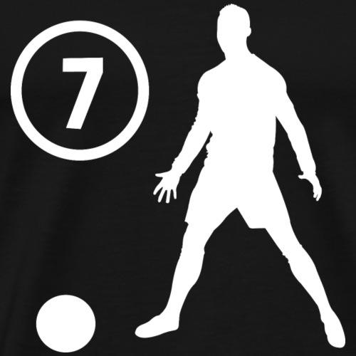 Goal soccer 7 - Mannen Premium T-shirt