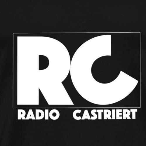 Radio CASTriert 2017/2018 - Männer Premium T-Shirt