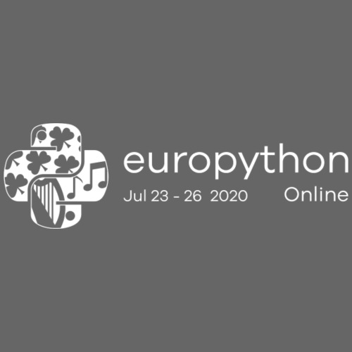 EuroPython 2020 - White Logo - Men's Premium T-Shirt