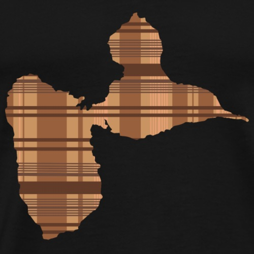 Tshirt gwada madrasse Marron - T-shirt Premium Homme