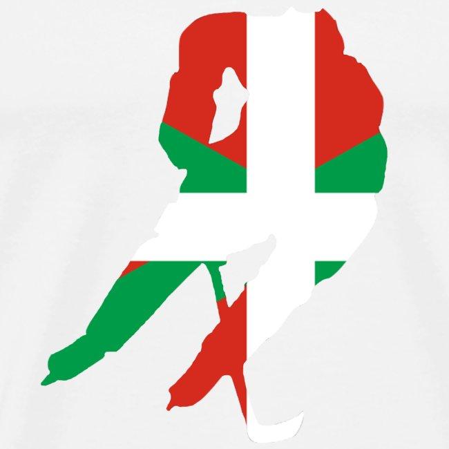 hockeyeur et basque