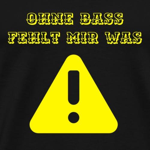 bass - Men's Premium T-Shirt