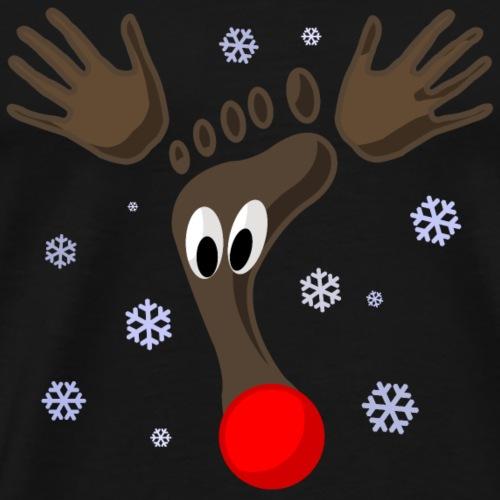 Rentier Weihnachtsedition - Männer Premium T-Shirt