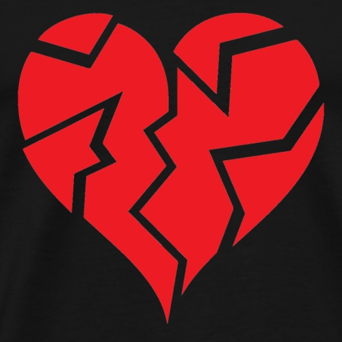 Heart Broken - Men's Premium T-Shirt