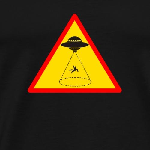 Attention enlèvement extraterrestre ! - T-shirt Premium Homme