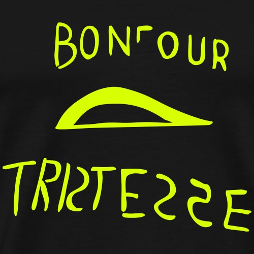 Bonjour Tristesse - Männer Premium T-Shirt