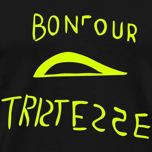 Bonjour Tristesse - Maglietta Premium da uomo