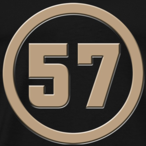 Logo Rond 57 - T-shirt Premium Homme